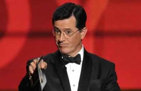 Stephen Colbert also presented an award.